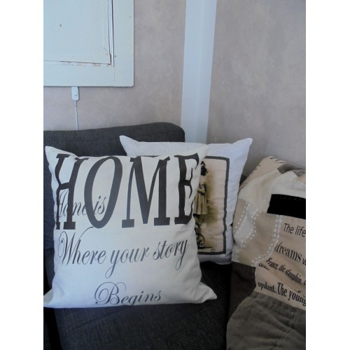 Hvidt pudebetræk (Home)