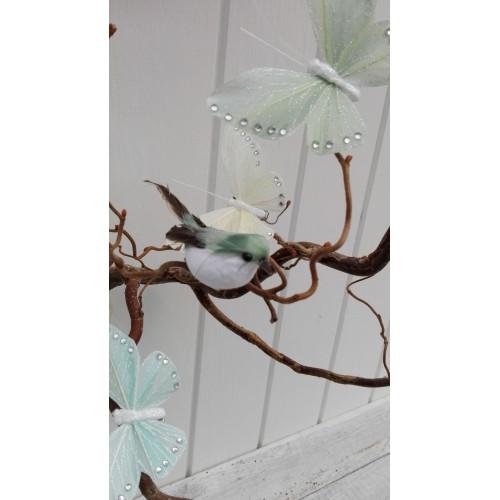 Fugl med clips (Grøn)